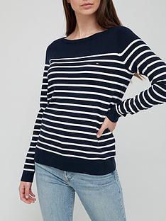 tommy-hilfiger-boat-neck-stripe-knit-navy