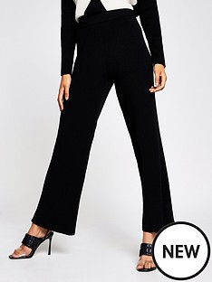 river-island-knitted-wide-leg-trousers-black