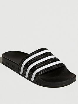 adidas-originals-adilette-blackwhite