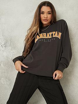 missguided-missguided-manhattan-graphic-oversized-sweatshirt-grey