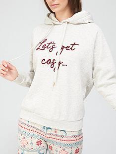 hunkemoller-slogan-hoodie-oatmeal