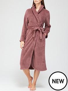 hunkemoller-long-sleevenbspsnuggle-fleece-robe-berry