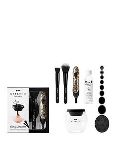 stylpro-stylpro-make-up-brush-cleaner-and-dryer-gift-sets-cheetah