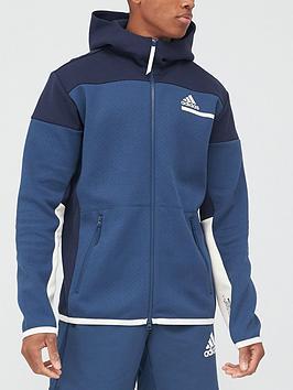 adidas-zne-full-zip-hoodie-navy