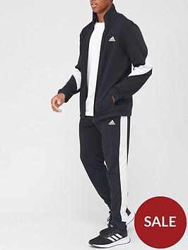 adidas-cotton-tracksuit-black