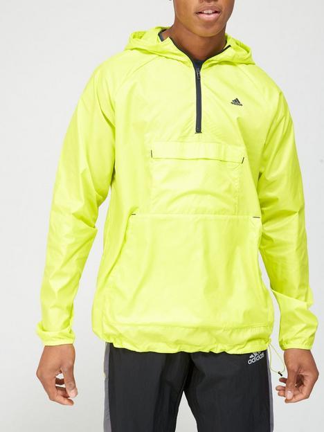 adidas-tech-windbreaker-yellow