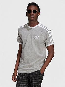 adidas-originals-3-stripes-t-shirt-medium-grey-heather