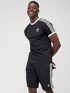 adidas-originals-3-stripe-t-shirt-black