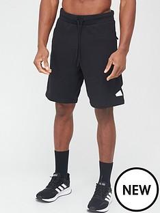 adidas-fleecenbspshort-blacknbsp
