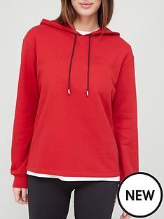 hugo-logo-overhead-hoodie-rednbsp