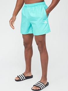 adidas-solid-clx-swim-short-green