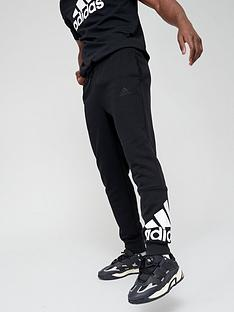 adidas-bos-fleece-pants-blackwhite
