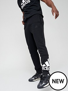 adidas-bos-fleece-pants-blackwhite