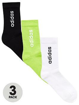adidas-3-pack-ofnbspcrew-socks-multi