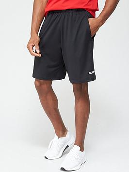 adidas-d2m-3-stripe-shorts-black
