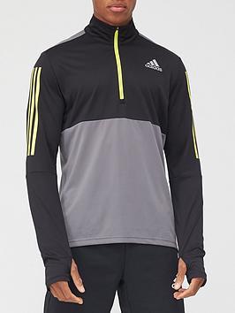 adidas-own-the-run-half-zip-top-greynbsp