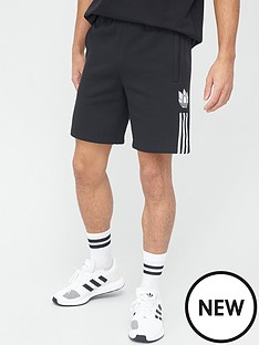 adidas-originals-3dnbsptrefoil-shorts-black