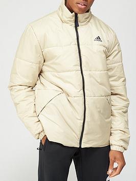 adidas-bsc-3-stripe-insulated-jacket-beigenbsp