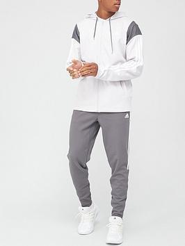 adidas-ribbed-tracksuit-grey