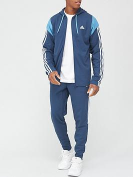 adidas-ribbed-tracksuit-blue