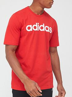 adidas-essential-linear-logo-t-shirt-red