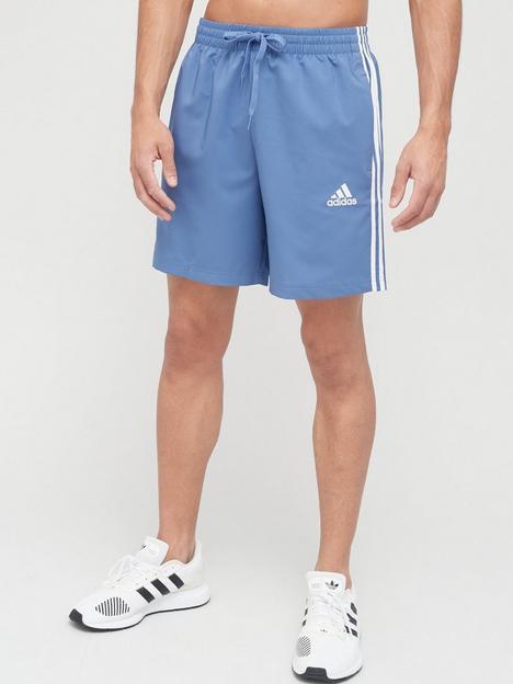 adidas-3-stripe-chelsea-shorts-blue