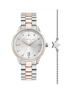 amanda-walker-amanda-walker-amelia-silver-and-rose-gold-date-dial-two-tone-stainless-steel-bracelet-ladies-watch-and-star-bracelet-gift-set