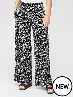 v-by-very-pleat-front-wide-leg-trouser-mono-print