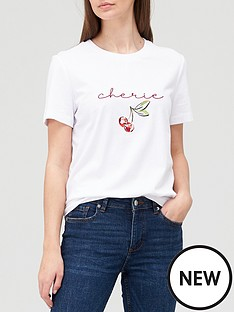 v-by-very-cherie-cherry-embroidered-tee-white