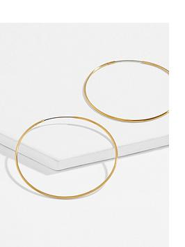 accessorize-z-medium-simple-hoop