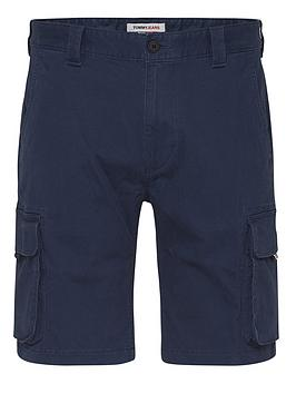 tommy-jeans-washed-cargo-shorts-navy