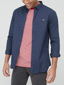 tommy-jeans-lightweight-twill-shirt-navy