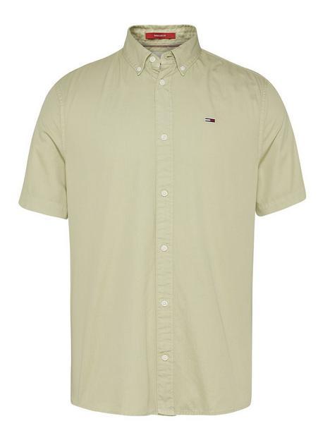 tommy-jeans-lightweight-twill-short-sleeve-shirt-light-green