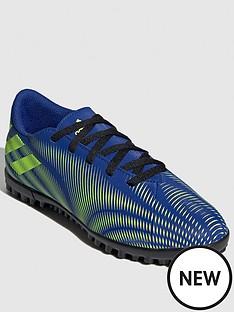 adidas-junior-nemeziz-194-astro-turf-boot-blackyellow