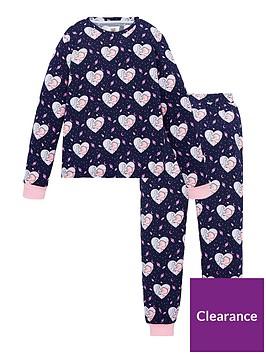 chelsea-peers-girls-heart-amp-dinosaur-print-pyjamas-navy
