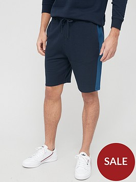 very-man-side-stripe-jog-short-navy