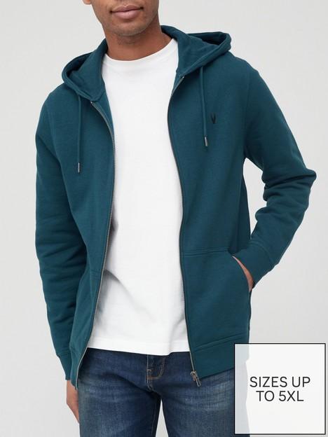 very-man-essential-zip-hoodie-tealnbsp