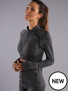 boux-avenue-two-tone-marl-running-jacket-grey