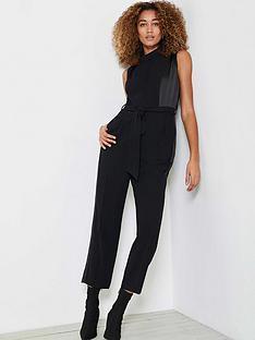 mint-velvet-cowl-sleeveless-jumpsuit-black