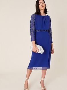 monsoon-clovernbspembellished-dress-cobalt