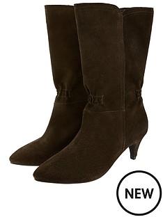monsoon-suede-mid-calf-ruchednbspboot-brown