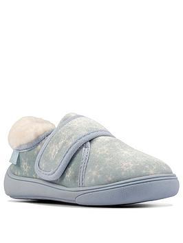 clarks-holmly-ice-toddler-slipper-light-blue
