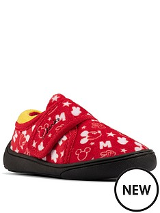clarks-holmly-mouse-toddler-slippers-red