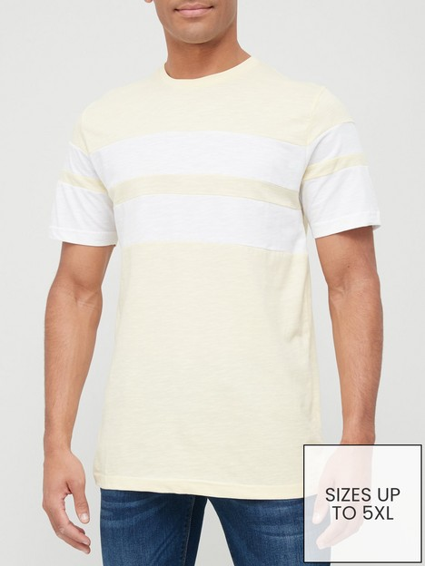 very-man-chest-slub-t-shirt-yellowwhite