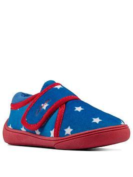 clarks-holmly-rest-toddler-slippers-blue
