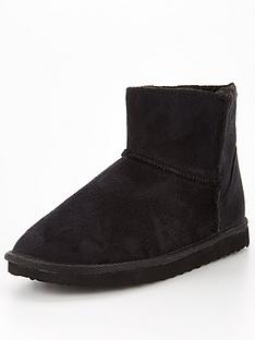 v-by-very-vision-faux-suede-slipper-boot-black
