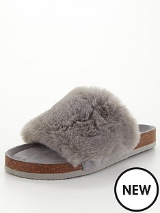 v-by-very-vox-faux-fur-slider-slipper
