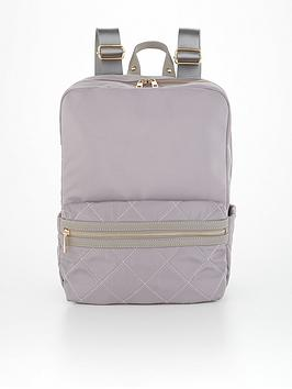 v-by-very-commuternbspquilted-backpack-grey
