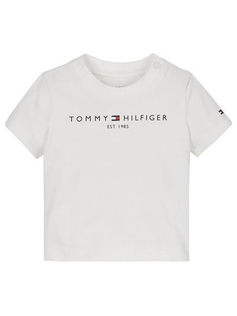 tommy-hilfiger-baby-essential-short-sleeve-t-shirt-white