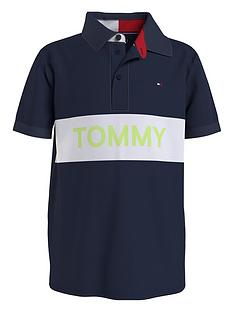 tommy-hilfiger-boys-blocking-polo-shirtnbsp--navy